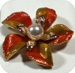 Costume jewellery - brooches